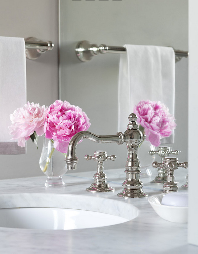 Bathroom Faucet. Bathroom Faucet Ideas. Durable Bathroom Faucet. High Quality Bathroom Faucet. #BathroomFaucet Jenny Wolf Interiors.