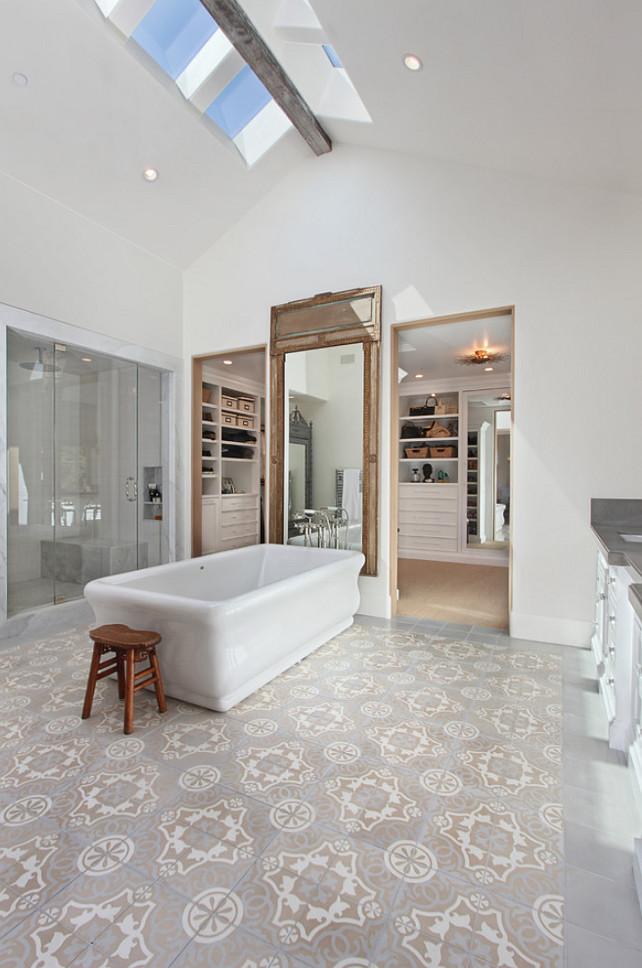 Bathroom Flooring. Bathroom Flooring Ideas. Bathroom Tiling. #Bathroom #Flooring #BathroomFlooring #BathroomTiling Brandon Architects, Inc.