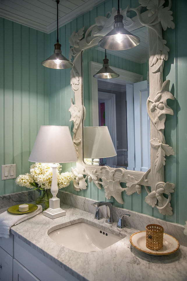 Bathroom Ideas. Bathroom Mirror Ideas. #Bathroom #BathroomIdeas #Mirror