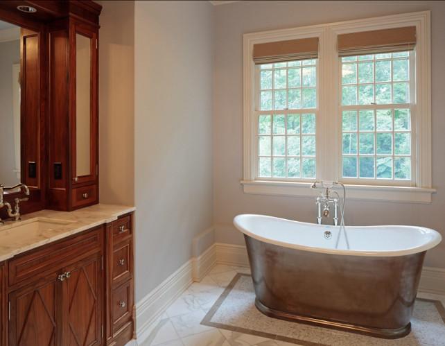 Bathroom Ideas. Chic Bathroom Design Ideas. #Bathroom #BathroomDesign
