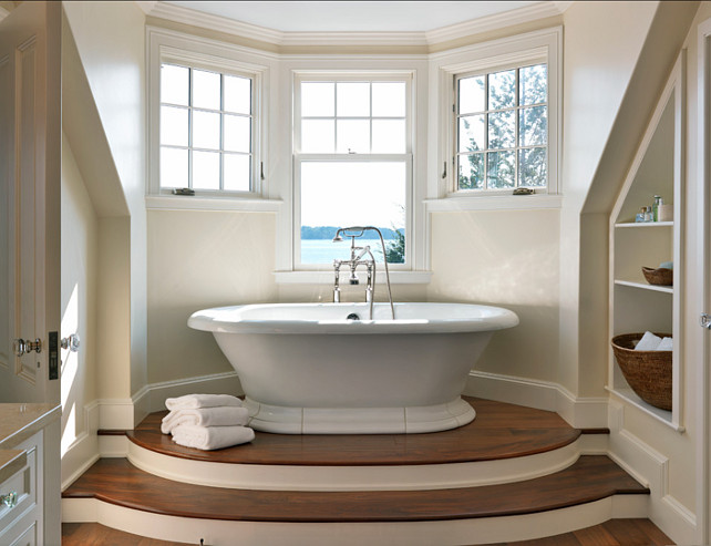 Neutral Color Bathroom Design Ideas ~ Traditional home with classy interiors bunch