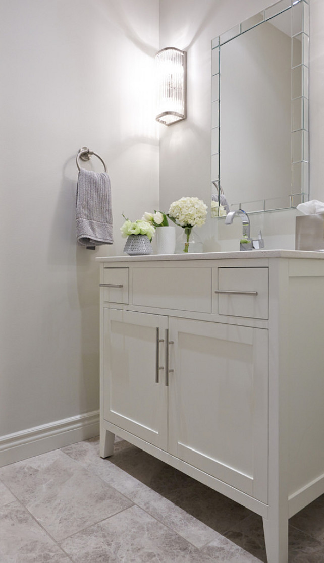 Inspiring Small Bathroom Design Ideas. #SmallBathroom #SmallBathroomDesign