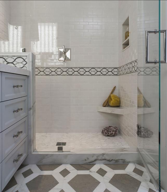 Bathroom Shower. Bathroom Shower Tiling Ideas. Angela Free Design.
