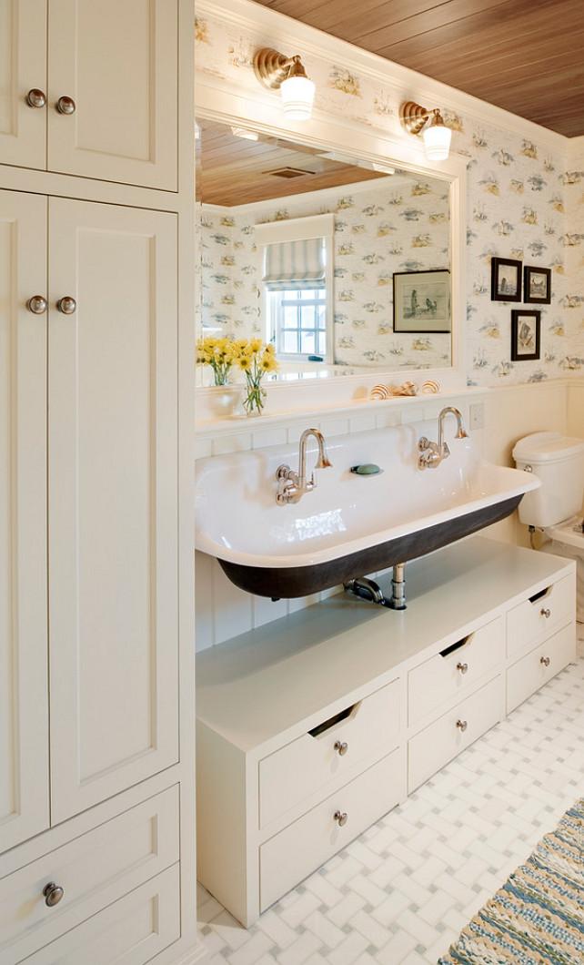 Bathroom Sink. Bathroom Sink Ideas. Bathroom Sink Design. Bathroom sink is a Brockway sink by Kohler. #Bathroom #Sink #BathroomSink Dennis Moffitt Painting.