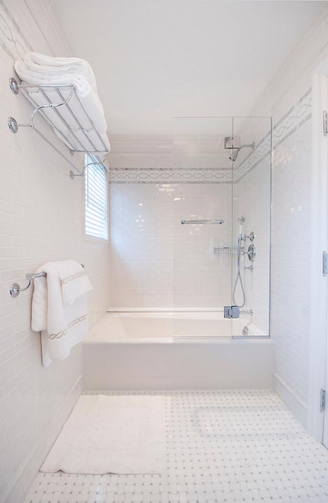 Floor-to-Ceiling Tiled Bathroom. Bathroom Tiling. Bathroom Tiling Ideas. Bathroom Tiling Design. Bathroom Subway Tile wall Tiling. #Bathroom #BathroomTiling MKL Construction Corp.