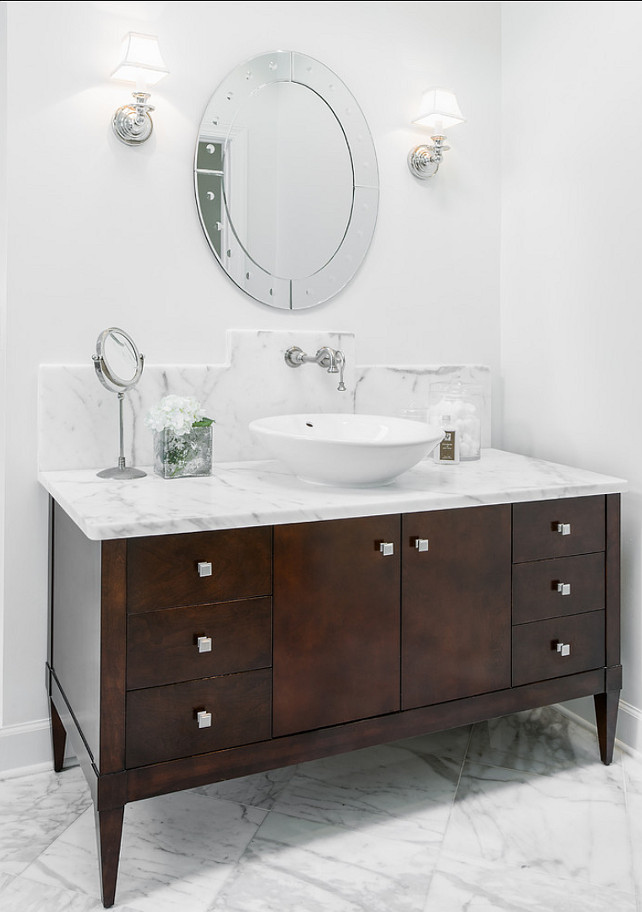 Bathroom Vanity Ideas. Bathroom Vanity Design. #BathrooVanity. Beach Chic Design Interior Designers & Decorators.