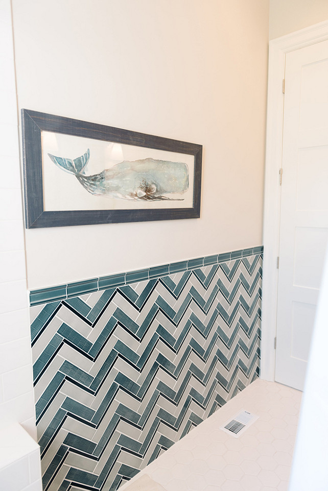 Bathroom Wall Tiling. Bathroom Wall Tiling Pattern. Bathroom Wall Tiling Pattern Ideas. Bathroom Chevron Wall Tiling. #Bathroom #WallTiling #Chevron