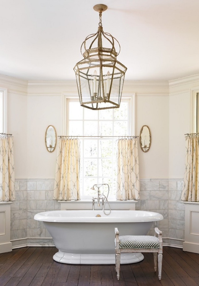 Bathroom Window Treatment Ideas. Bathroom Window Treatment. #Bathroom #WindowTreatment #BathroomWindowTreatment   Liz Williams Interiors.