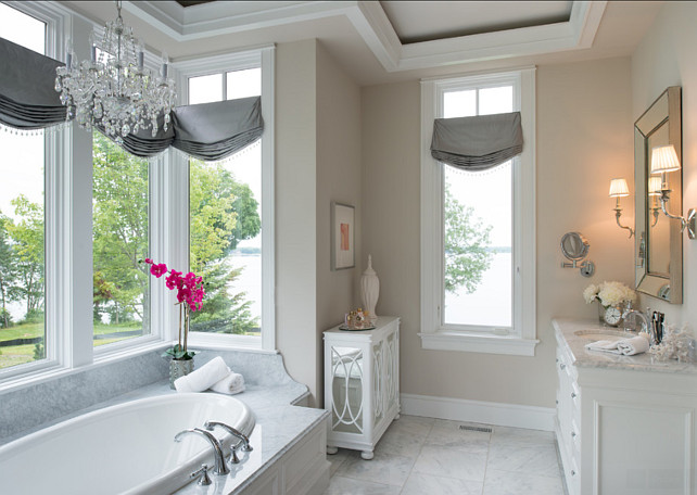 Bathroom. Bathroom Design. Bathroom With Elegant Decor And Neutral Color  Palette. #Bathroom Part 52