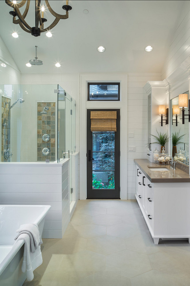 Bathroom. Bathroom Design. Transitional Bathroom Ideas #Bathroom