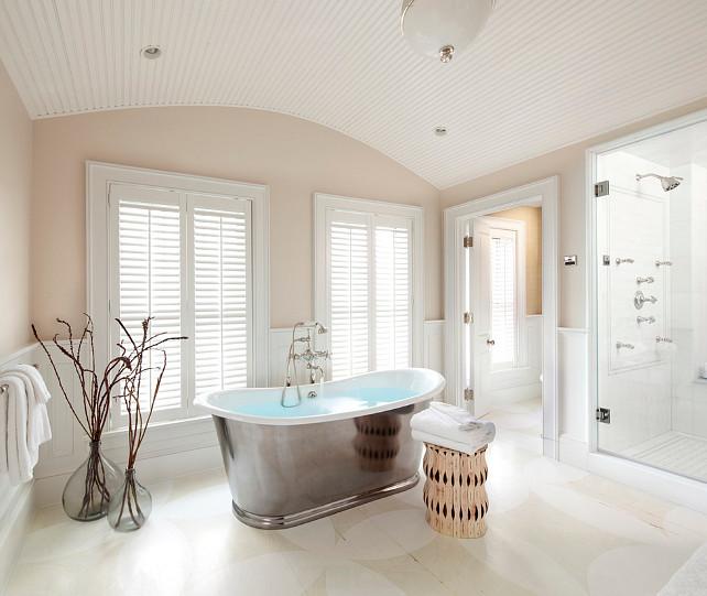Bathroom. Bathroom with painted floors. Painted Floor Bathroom Ideas. #Bathroom  Jeannie Balsam LLC