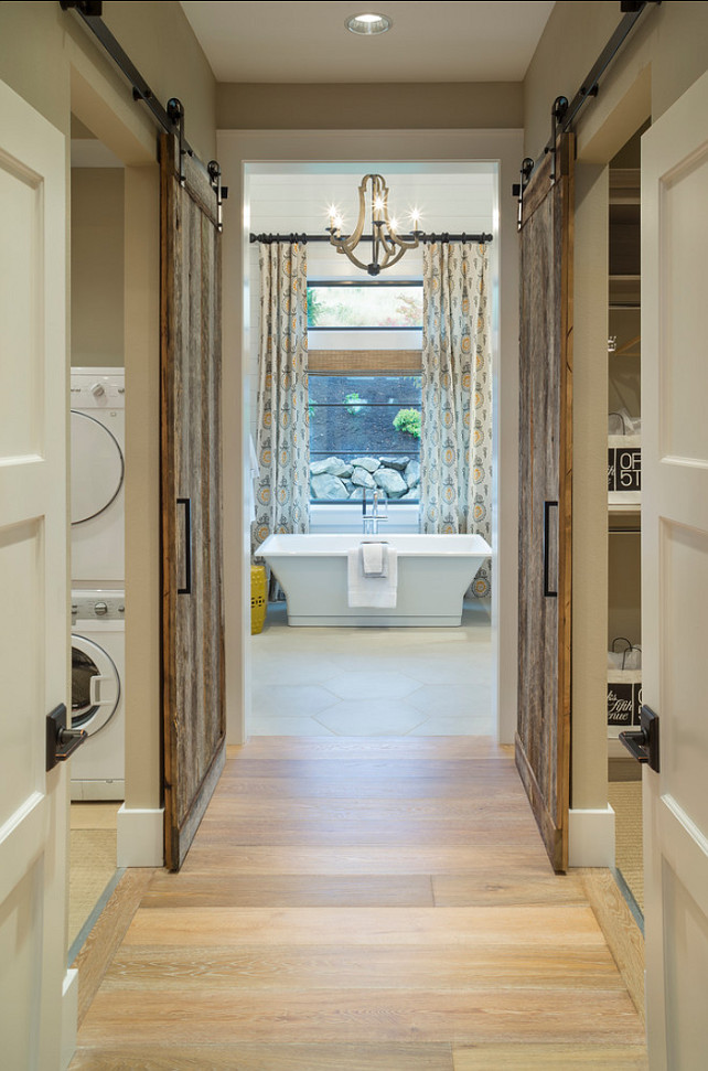 Bathroom. Master Bathroom. Master bathroom with laundry room and dressing room. Ensuite. #MasterBathroom #MasterBathroomIdeas #MasterBathroomDesign