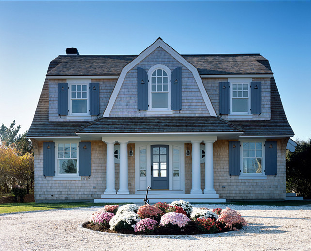 Beach Cottage. Exterior Beach Cottage Ideas. Beautiful shingle style beach cottage. #BeachCottage #Cottage #ShingleCottage Polhemus Savery DaSilva