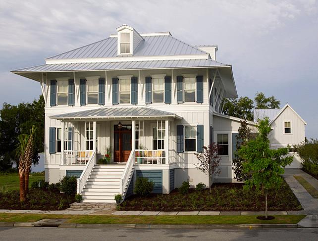 Beach House. Comfortable Beach House Interiors #BeachHouse #BeachHouseInteriors
