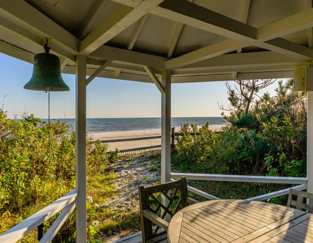 Seaside Gazebo. Via Sotheby's Homes.