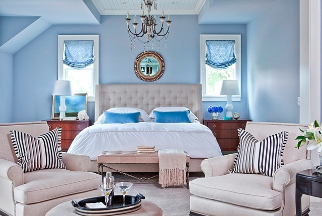 This Is The Kind Of Color You Should Use If Love Summer How Hy And Fresh By Way Isn T That A Great Bed Wall Benjamin Moore