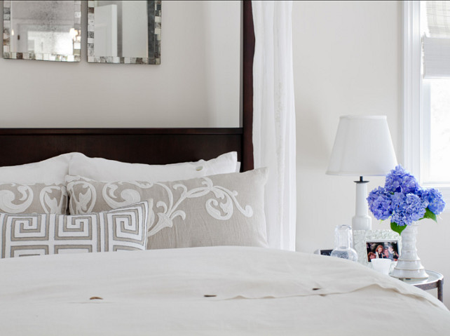 Bedding Ideas. Beautiful Bedding Ideas. I love the classic and comfortable look of this bedding. #Bedding #BeddingIdeas