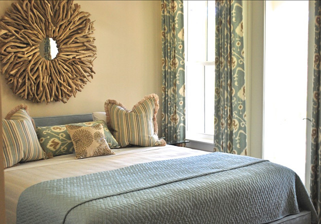 Bedroom Decor. Bedroom Decor Ideas. Bedroom Fabrics. Lisa Gabrielson Design.