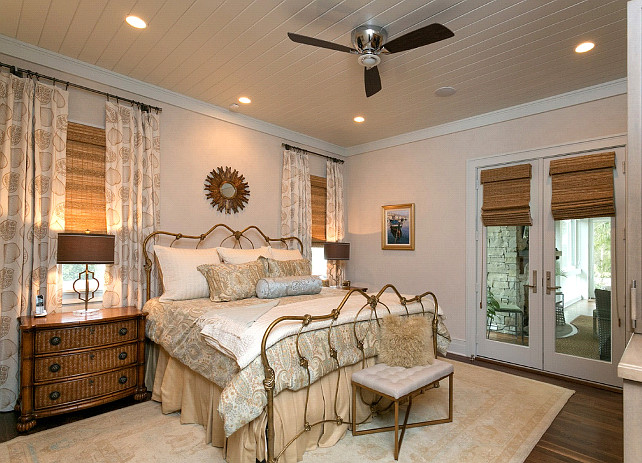 Bedroom Decor. Coastal Bedroom Decor Ideas. #BedroomDecor #CoastalInteriors #Coastal #Bedroom