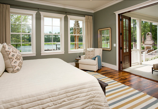 Bedroom Design Ideas. Casual bedroom design ideas. Paint Color: Sherwin Williams Mountain Ash 7743 #BedroomDesignIdeas #BedroomIdeas #Bedroom