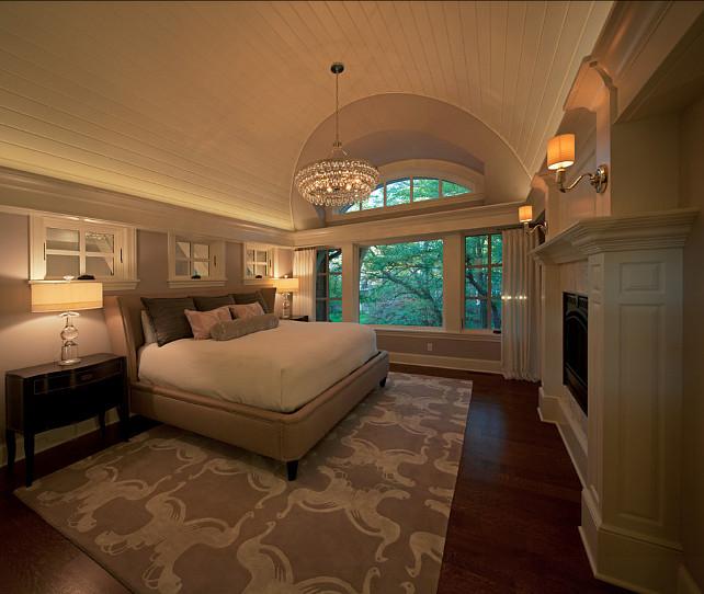 Chandelier Transitional Bedroom Design Ideas: Interior Design Ideas