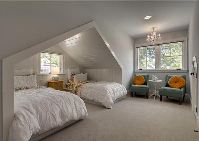 Bedroom Design. Great shared bedroom design. #Bedroom #SharedBedroom