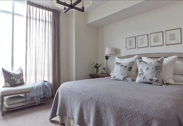 Bedroom Design. Soothing Bedroom Decor. Lisa Gabrielson Design.