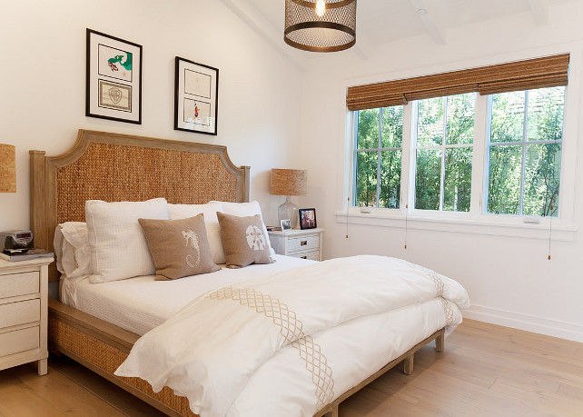 Bedroom Furniture Ideas. Seagrass Bed. Bedroom with seagrass bed. #SeagrassBed #Bedroom #BedroomFurniture Graystone Custom Builders.