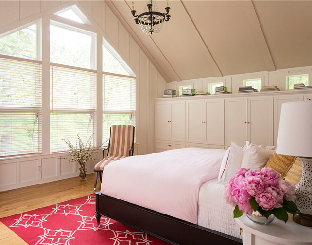 Bedroom Ideas. Bedroom Design. Bedroom with feminine decor. #Bedroom #BedroomDesign #BedroomIdeas Designed by Martha O'Hara Interiors.