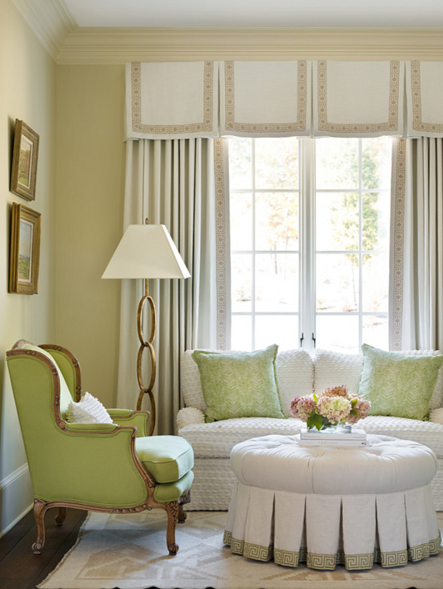 Bedroom Sitting Area. Traditional Bedroom Sitting Area. #Bedroom #SittingArea Chenault James Interiors.