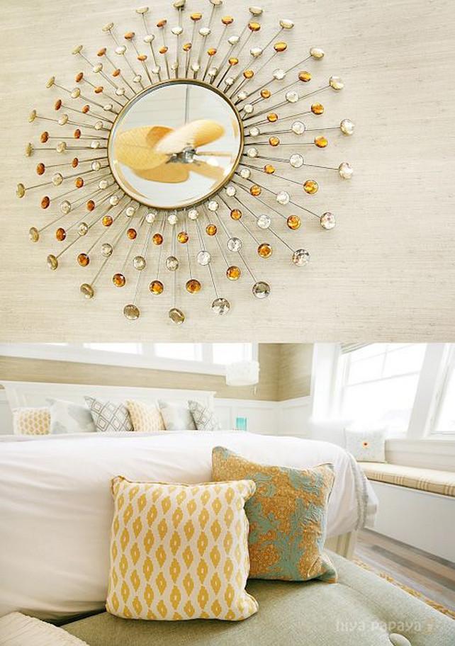 Bedroom. Bedroom Decor Ideas. Bedroom color palette. Bedroom fabric ideas. #Bedroom