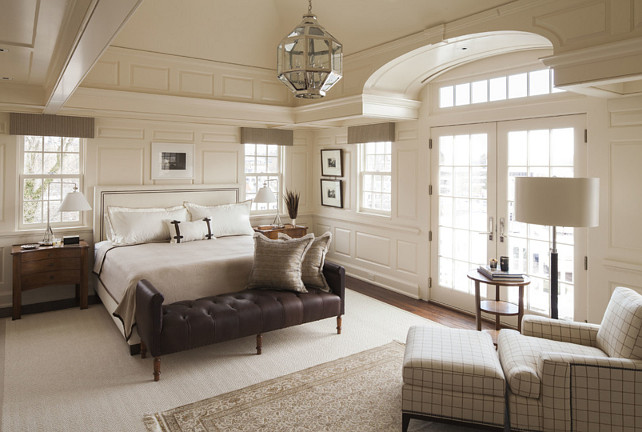 Bedroom. Bedroom Millwork. Bedroom Wall Paneling. Bedroom Decor. Bedroom Paint Color. Master Bedroom. Bedroom Design. Bedroom Color Palette. Bedroom Lighting. Bedroom Layout. Bedroom Furniture. #Bedroom