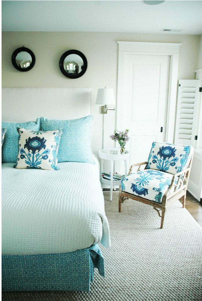 Coastal Bedroom: Shingle Beach Cottage With Coastal Interiors