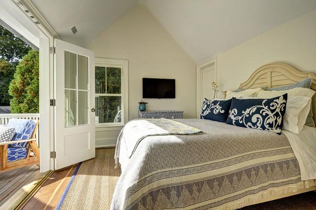 Bedroom. Coastal Bedroom. Coastal Bedroom Ideas. Blue and white Bedroom Decor. #Bedroom #CoastalBedroom John Hummel and Associates.
