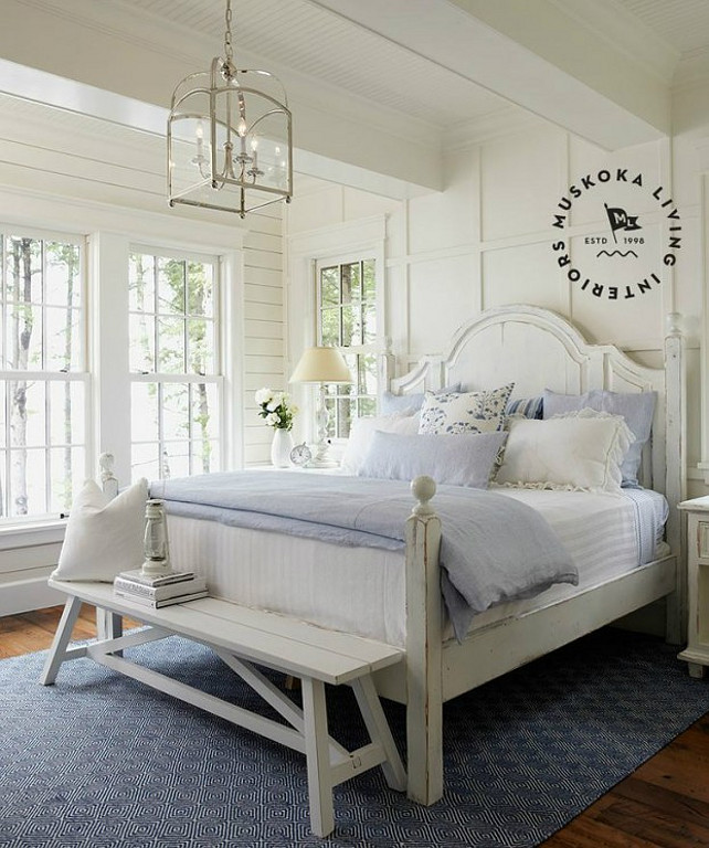 coastal muskoka living interior design ideas home bunch 14839 | bedroom coastal master bedroom ideas white master bedroom with blue decor image by muskoka living interiors bedroom masterbedroom coastal interiors whitebedroom muskokalivinginteriors