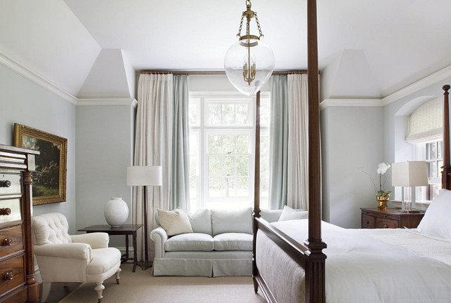 Bedroom. Master Bedroom. Traditional Master Bedroom Ideas. Master Bedroom Color Palette. #MasterBedroom #Bedroom #TraditionalMasterBedroom #TraditionalBedroom Jessica Glynn Photography.