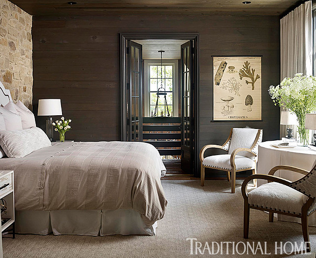 Bedroom. Neutral Bedroom. Bedroom with neutral decor. Furnishings are deliberately subtle and sophisticated throughout this bedroom. #Bedroom #BedroomIdeas #BedroomDesign #NeutralBedroom #BedroomDecor