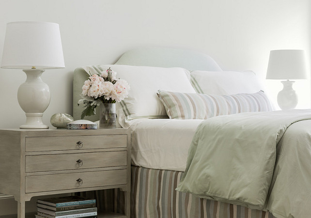 Bedroom. Seafoam Bedroom. Seafoam Bedroom Bedding. Seafoam Bedroom Design. Seafoam Bedroom Color Palette. #Bedroom #SeafoamBedroom  Anita Clark Design.
