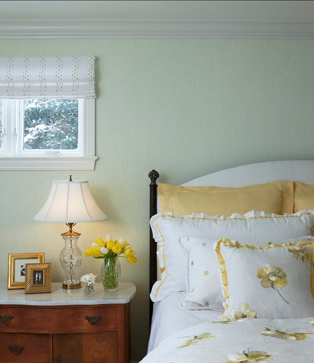 bedroom design traditional bedroom with pale green wall paint color