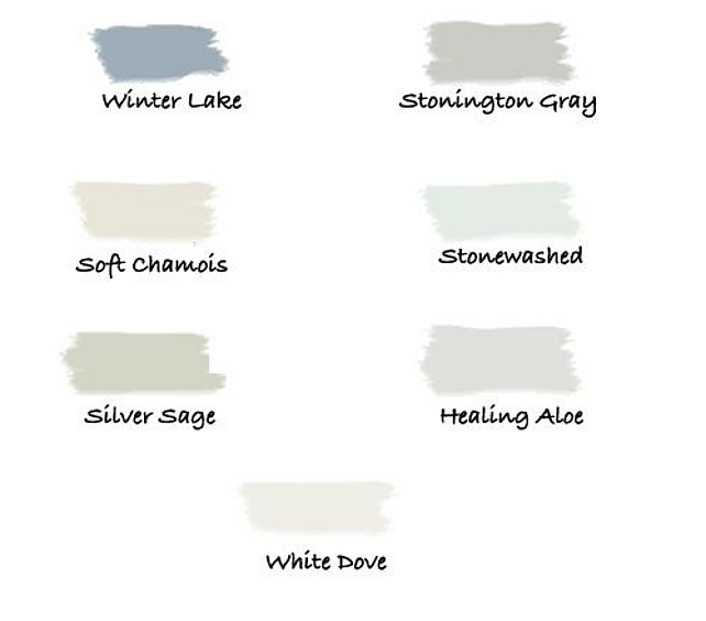 Benjamin Moore Paint Colors Benjamin Moore Silver Lake: Interior Paint Color And Color Palette Ideas With Pictures