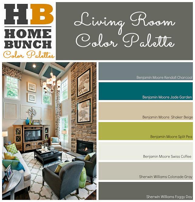Family Home Main Floor Color Scheme Ideas Bunch Interior Design