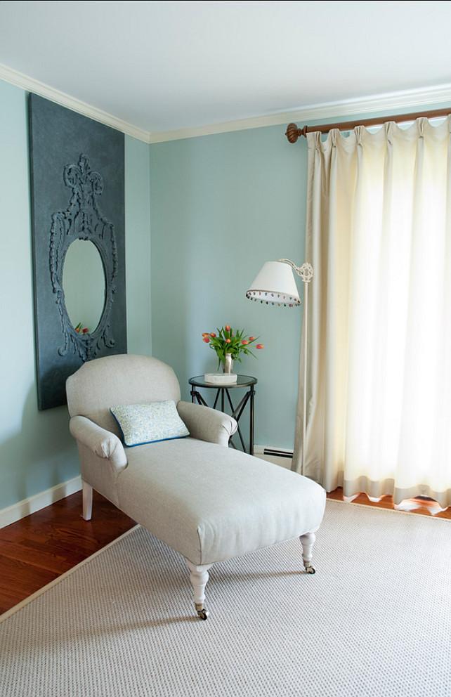Benjamin Moore Paint Color. Benjamin Moore Palladian Blue HC-144 #BenjaminMoorePalladianBlue #BenjaminMooreHC144