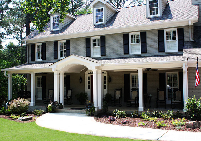 Benjamin Moore Paint Color. Home Exterior Benjamin Moore Paint Color Ideas. Benjamin Moore Sandy Hook Gray. #BenjaminMooreSandyHookGray