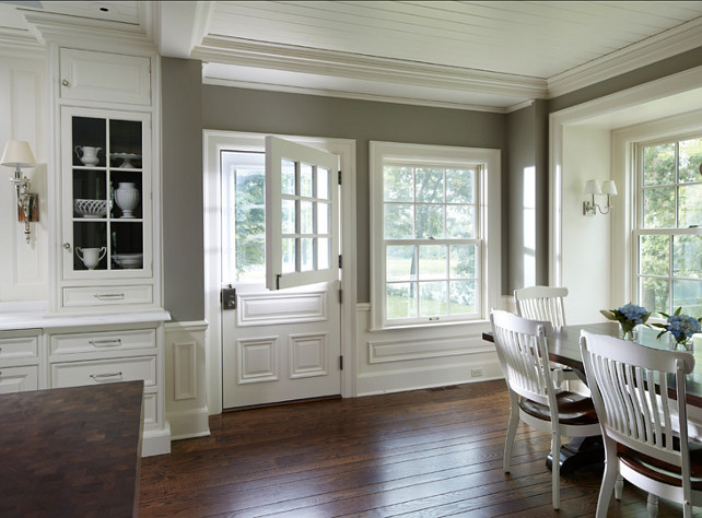 Traditional Home With Classic White Kitchen Home Bunch