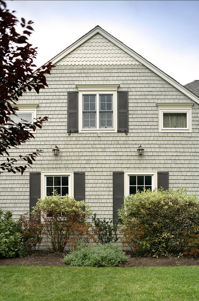 Benjamin Moore Paint Colors.  Benjamin Moore HC-111 Nantucket Gray  #BenjaminMooreNantucketGray