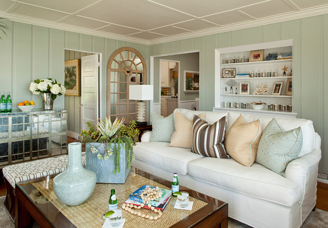 Small Shingle Beach Cottage With Coastal Interiors Home