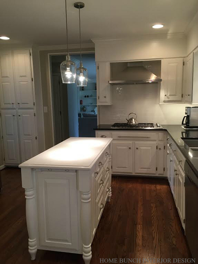 Before amp After Kitchen Reno With Painted Cabinets Home Bunch Interior Design Ideas