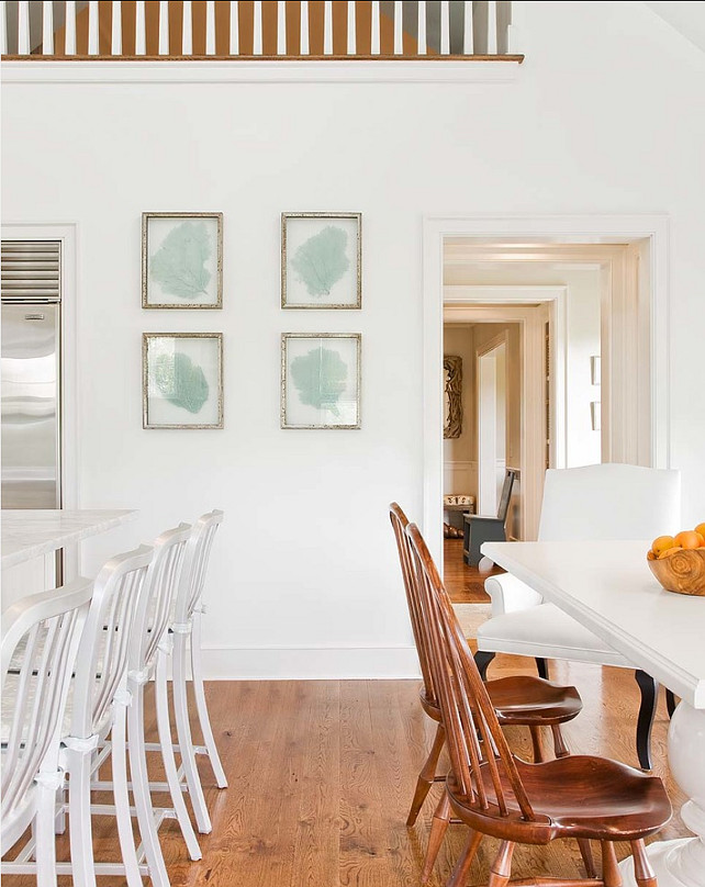 Benjamin Moore Crisp White Paint Color. Benjamin Moore Super White PM-1 #BenjaminMoore #SuperWhite PM-1