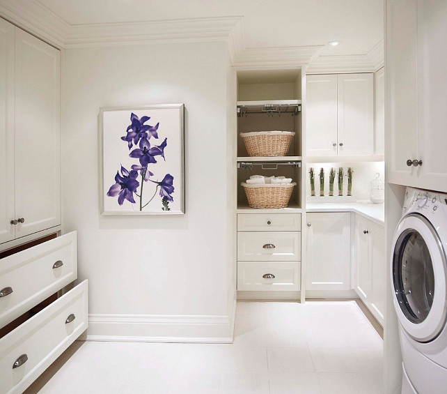 Laundry Room Pantry Ideas Benjamin Moore Antique White: Home Bunch Interior Design Ideas