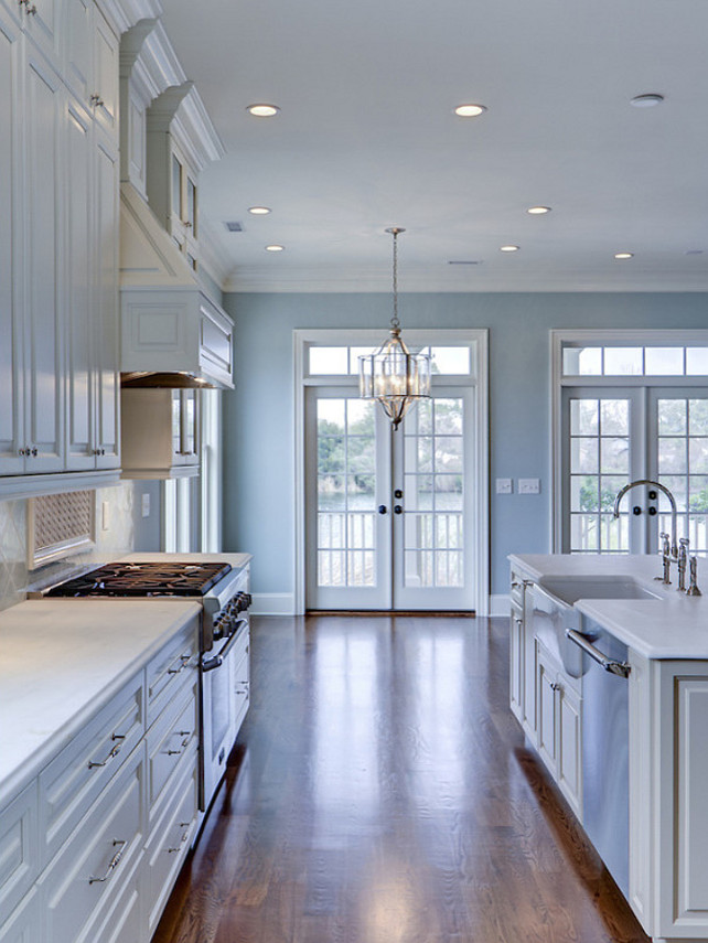 Popular paint color and color palette ideas home bunch Blue kitchen paint color ideas